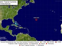 Décimo novena depresión tropical.