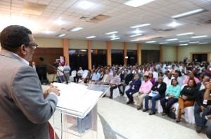 Rubén Maldonado habla en Foro Legislativo.