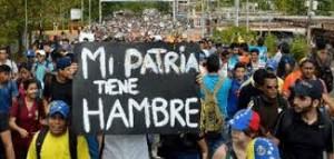 Venezolanos se movilizan contra el Gobierno de Nicolás Maduro.