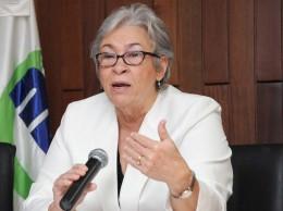 Altagracia Guzman, ministra de Salud.