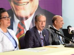 Cristina Lizardo, Reinaldo Pared Pérez y Bautista Rojas Gómez.
