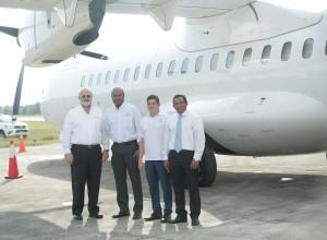 Omar Chahín, Danilo Rosario, Silverio Dos Santos, Carlos Rodolí.
