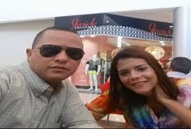 Yasmil Oscar Fernández Estévez y la abogada Aniver González Ureña
