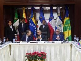 Diálogo entre el Gobierno y la oposición de Venezuela en República Dominicana.