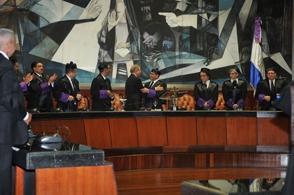 El presidente Danilo Medina encabezó celebración del Día del Poder Judicial.