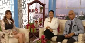 Font Frías entrevistada por Carolina Uribe y Ramón Puello Báez.