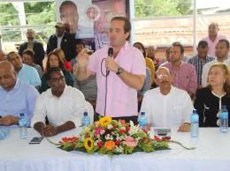 José Ignacio Paliza encabeza actividad en La Vega.