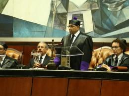Mariano Germán pronuncia discurso en audiencia solemne por Día del Poder Judicial.