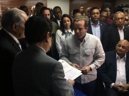 Paliza, Fulcar y otros dirigentes inscriben candidaturas.
