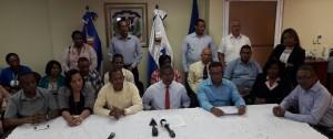 Miembros de la ADP en el Distrito Nacional y la provincia Santo Domingo.