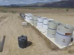 Planta de tratamiento de presa Monte Grande.
