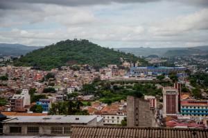 Tegucigalpa, la capital hondureña.