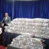DNCD ocupa 345 paquetes de drogas en camión en el DN