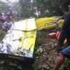 Muere piloto de avioneta estrellada en finca de Bonao