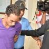Víctor Alexander Portorreal, acusado de muerte de pareja y sus hijos, fue trasladado a cárcel de SPM